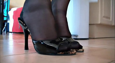 Foot nylon, Nylon feet, Nylons, Feet up