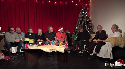 Christmas, Old men, Granny orgy, Gay teen