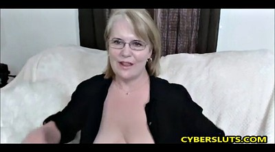 Glasses, Webcam mature, Mature chubby, Glass