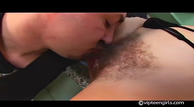 Hairy pussy licking, Hairy pussy fuck