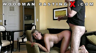 Huge tits, Young anal, Casting anal, Anal casting