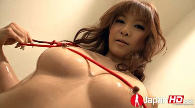 Japanese big tits, Bath, Japanese babe, Rope, Japanese solo, Japanese oil