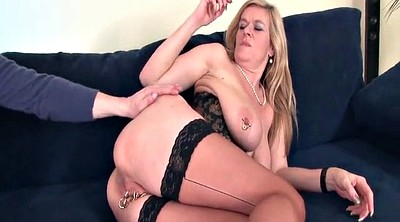 Mature anal, Pierced pussy