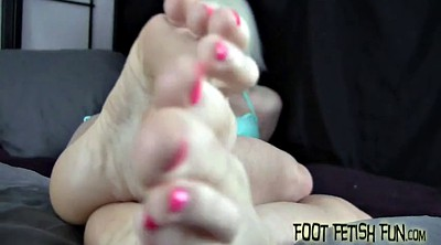 Feet masturbation, Foot masturbation