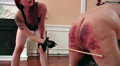 Caning, Lesson, Femdom caning