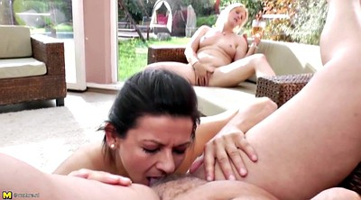 Lesbian pissing, Love, Pissing mature, Granny pissing
