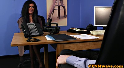 Cfnm, Office masturbation, Office sex