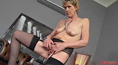 Saggy, Mature stocking, Granny solo, Solo granny, Saggy solo