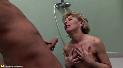 Pissing, Mom son, Mom and son, Granny anal, Mom anal, Mom fuck son