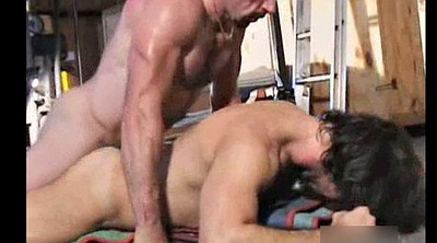 Muscle, Interracial hairy