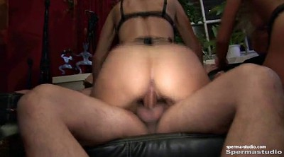 Cum in mouth, Creampie gangbang, Mouth sex