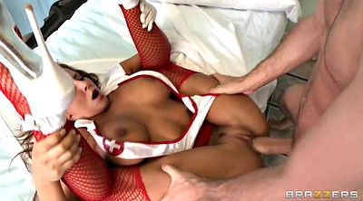 Nurse, Big, Madison ivy, Madison, Balls licking