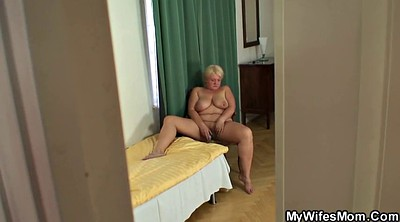 Mom, Young busty, Moms, Busty mom, Big tit granny