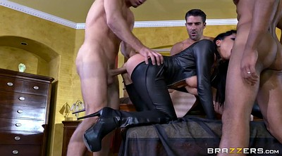 Romi rain, Gloves, Cfnm, Leather