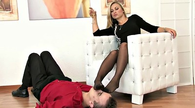 Trample, Nylon foot, Trampled, Nylon femdom, Trampling, Foot trample