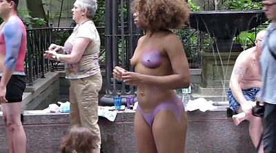 Public, Body painting, Body paint