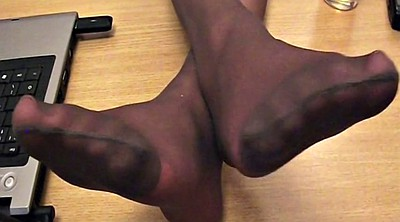 Pantyhose foot, Nylon foot, Pantyhose nylon