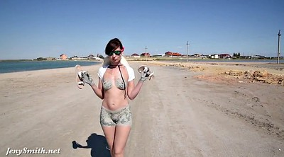 Public flashing, Public beach, Jeny smith