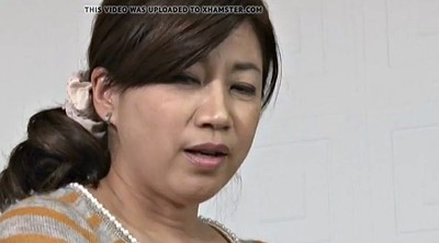 Mom, Japanese mom, Japanese milf, Japanese big tits, Old mom, Japanese old