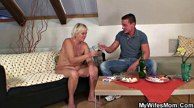 Mother in law, Granny boy, Mature boy, Mother sex, Mother in, In law