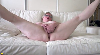 Granny anal, Chubby anal