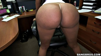 Office, Ass worship, Giant ass