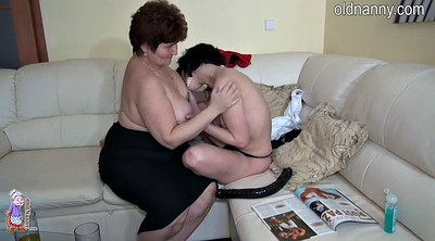 Bbw mature, Old threesome