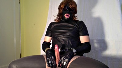 Leather, Shemale cum