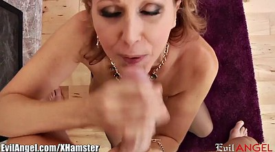 Julia ann, Julia ann milf, Sucking, Blond