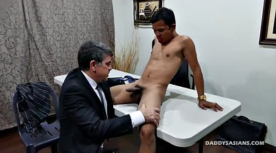 Dad, Daddy gay, Young and old, Asian boy, Asian daddy, Old gay