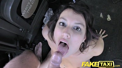Big cock, British, Fake taxi