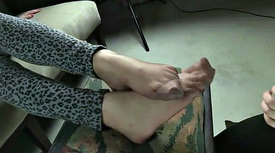 Nylon feet, Pantyhose feet, Smell, Nylon foot, Smell foot, Foot fetish