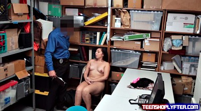 Shoplifter, Shoplift, Teen strip, Office sex