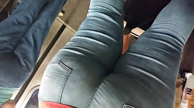 Phat ass, Jean ass, Tight jeans, Cam in