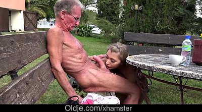 Granny anal, Old young, Position