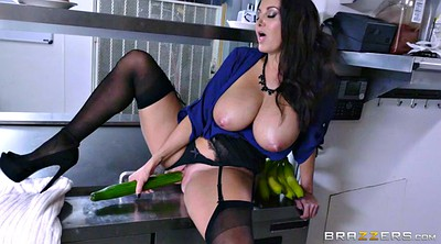 Ava addams, Panty solo, Fuck solo, Giant big tit, Cucumber, Panty fuck