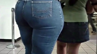 Hidden, Jeans ass, Phat ass, Big ass milf