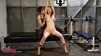 Forced, Force, Tied, Tied up, Forcing, Redhead lesbian