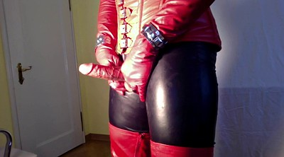Boots, Boot, Gloves, Glove, Crossdress, Leather