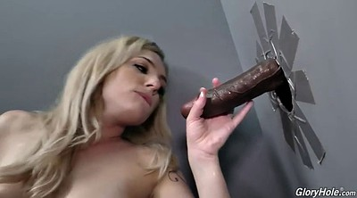 Blacked anal, Glory hole, Swallowing, Big hole