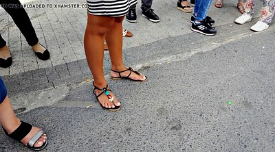 Foot fetish, Toes, Perfect, Public feet