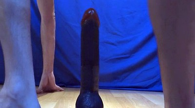 Huge cock, Huge ass, Huge toy