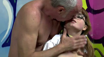 Old man, Abuse, Young schoolgirl, Old fucks young, Anal granny