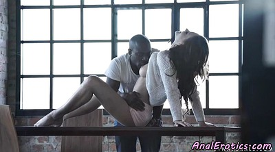 Interracial creampie, Amateur allure, Ebony anal creampie