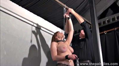 Teen slave, Nipple clamps