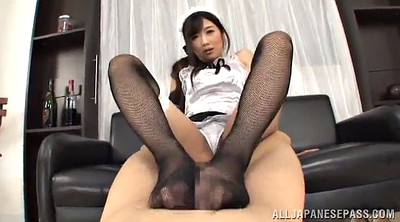 Long nails, Asian foot, Hot maid, Asian hot