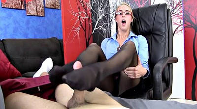 Black pantyhose, Pantyhose foot