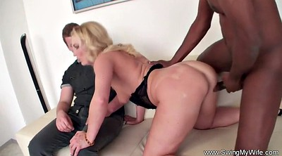 Swinger wife, Wife interracial