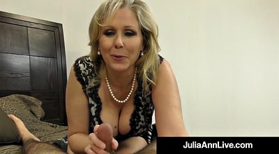 Julia ann, Julia, Mature foot, Julia ann feet, Hand