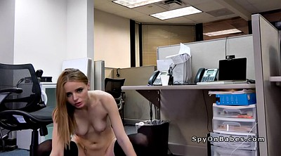 Office, Secretary, Nerd, Hidden masturbation, Hidden masturbating, Hidden cam masturbation